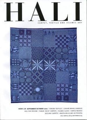 HALI: CARPET, TEXTILE AND ISLAMIC ART: ISSUE 118 SEPTEMBER-OCTOBER 2001.