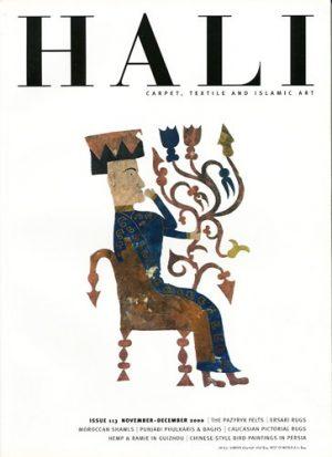 HALI: CARPET, TEXTILE AND ISLAMIC ART: ISSUE 113 NOVEMBER-DECEMBER 2000.