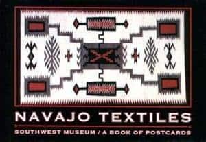 Navajo Textiles: Southwest Museum: A Book of Postcards