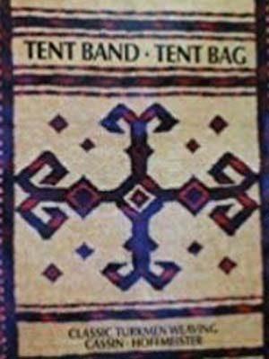 Tent band, tent bag: Classic Turkmen weaving