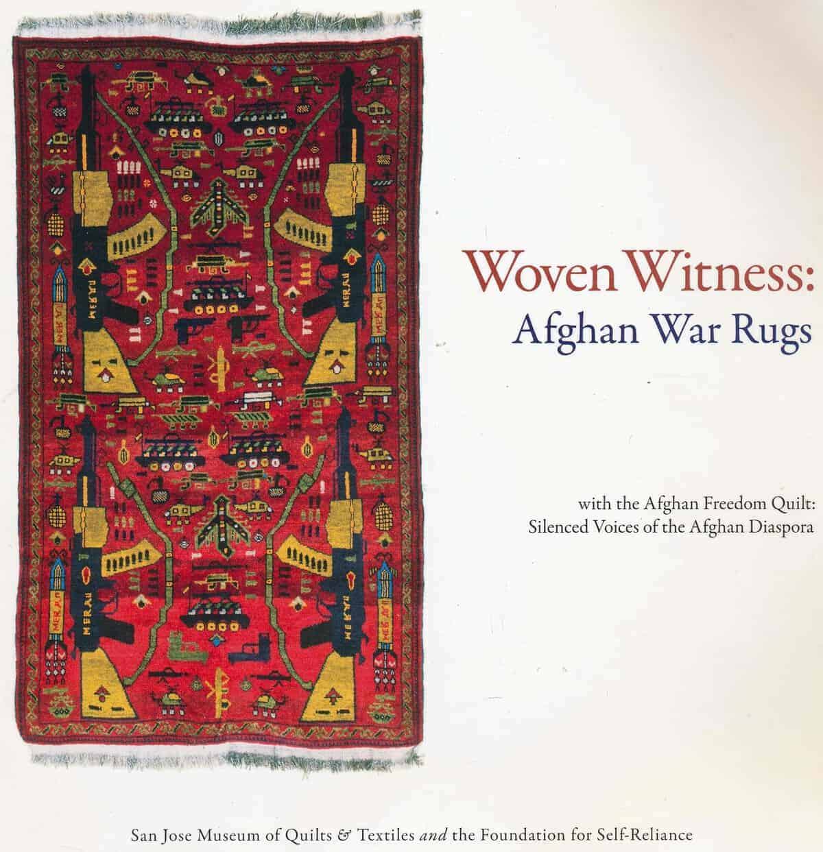 Woven Witness: Afghan War Rugs