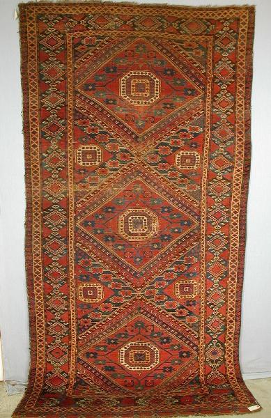 Ersari Beshir 2h19ct WoolleyWallis - Woolley & Wallis Rugs and Carpets auction 17 January 2002
