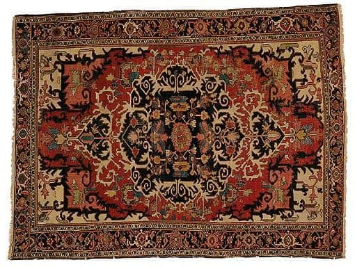 Heriz late19ct Sothesbys - Selection from Sotheby's Rugs and Carpets auction 27 February 2002