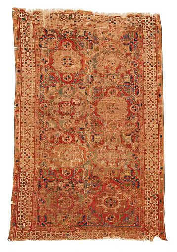 HolbeinRug WAnatolia 1h16ct Sothesbys - Selection from Sotheby's Rugs and Carpets auction 27 February 2002