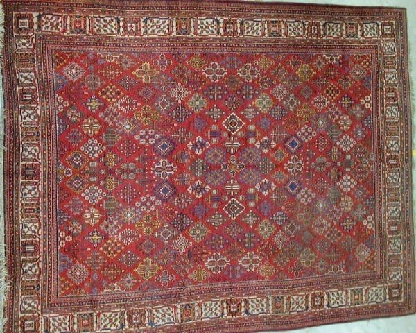 Joshaghan1930 WolleyWallis124 600x480 - Woolley & Wallis Rugs, Carpets and Textiles auction 14 February 2002