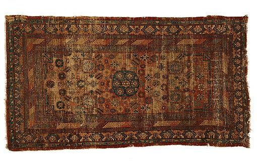 Khotan 1850 Sothesbys - Selection from Sotheby's Rugs and Carpets auction 27 February 2002