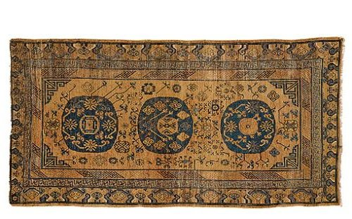 Khotan late19ct Sothesbys - Selection from Sotheby's Rugs and Carpets auction 27 February 2002