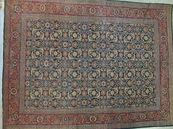 Tabriz1920 WoolleyWallis131 600x450 - Woolley & Wallis Rugs, Carpets and Textiles auction 14 February 2002