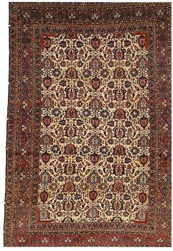 Teheran 1900 Sothesbys e1519400587854 - Selection from Sotheby's Rugs and Carpets auction 27 February 2002