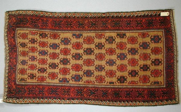 BaluchiLate19L329WolleyWallis160402 600x373 - Woolley & Wallis Rugs, Carpets and Textiles auction 16 April 2002