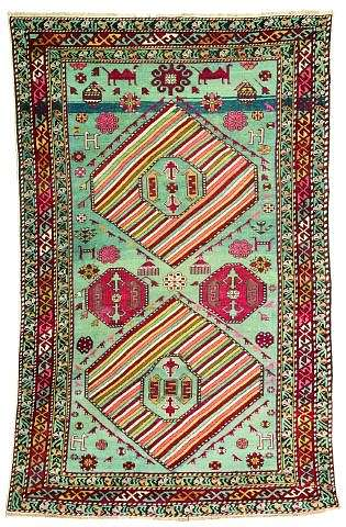 Derbend1900L158Nagel070502 - Selection Nagel Auktionen  Rugs and Carpets  auction 7 May 2002