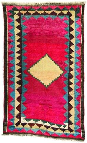 Gabbeh19ctL208Nagel070502 - Selection Nagel Auktionen  Rugs and Carpets  auction 7 May 2002