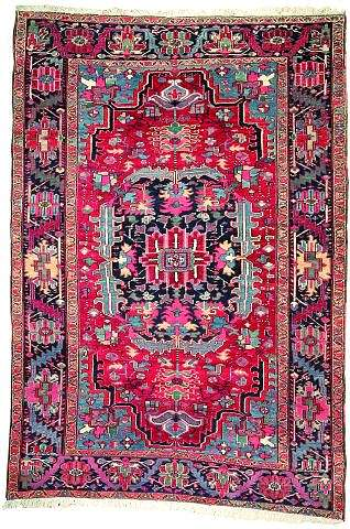 Heriz1Q19L272Nagel070502 - Selection Nagel Auktionen  Rugs and Carpets  auction 7 May 2002