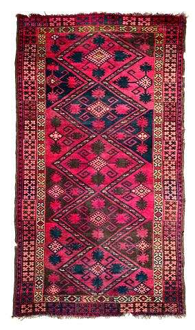 KirgizCarpet1900L262Nagel070502 - Selection Nagel Auktionen  Rugs and Carpets  auction 7 May 2002