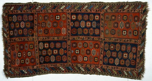 Kyrgyz carpet from Barbara & Terence Flynn's Kyrgyz Carpets Collection.