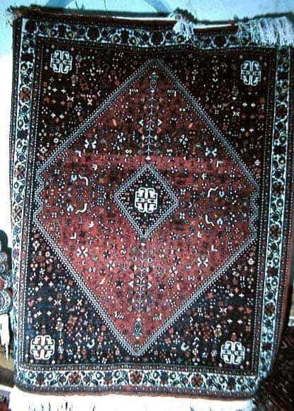 Fine old Abadeh found in Shiraz 1 - Abadeh rugs
