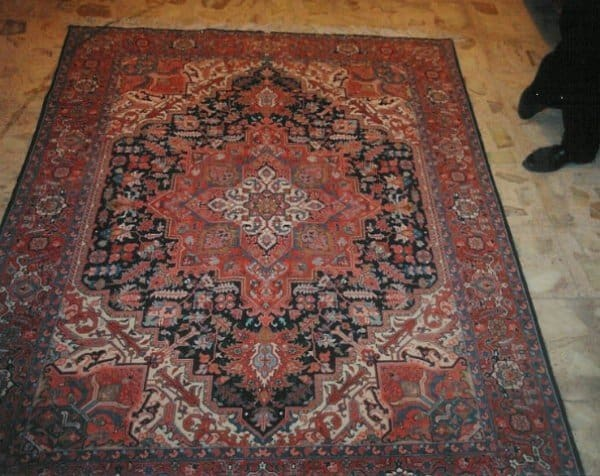 Fine old Tabriz from the fifties found in Teheran 600x476 - Travelling in Iran - Carpet dealers perfume