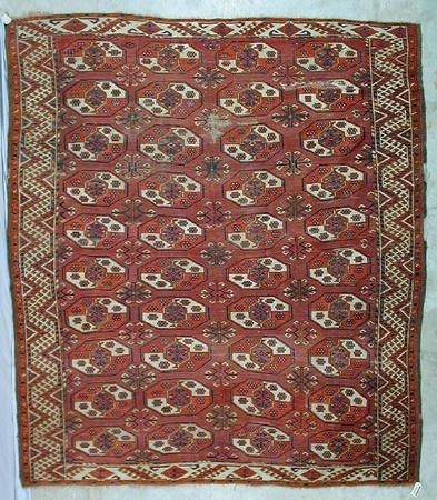 1128 - Woolley & Wallis, Eastern and Western Carpets and Rugs, Textiles and Needlework Sale, 11 February 2004