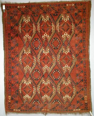 1129 - Woolley & Wallis, Eastern and Western Carpets and Rugs, Textiles and Needlework Sale, 11 February 2004