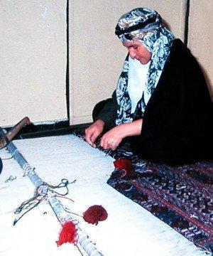 Weaving Shirikipitsch in Sirjan