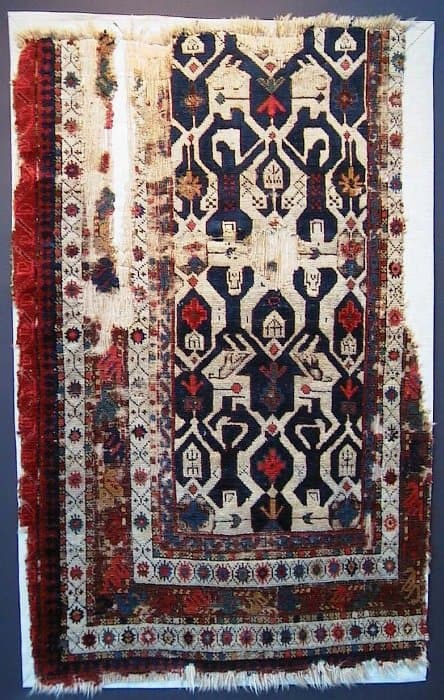 ACOR7 Quba fragment - American Conference on Oriental Rugs - ACOR 7
