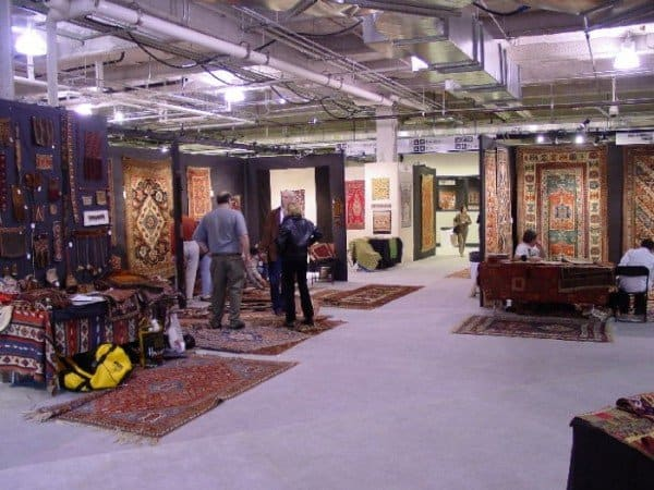 dealers row 600x450 - A little peek at ACOR 7 - American Conference on Oriental Rugs