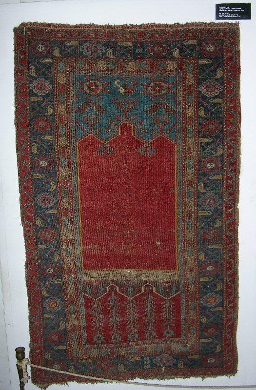 18th century Ladik prayer rug