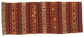 Cover – Central Asia, late 19th century. The Textile Museum 1989.9.3. Gift of Charles Grant Ellis, from the collection of Arthur Arwire.