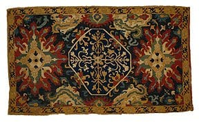 Cushion cover. Caucasus, 18th century. The Textile Museum 2.6. Acquired by George Hewitt Myers in 1915.