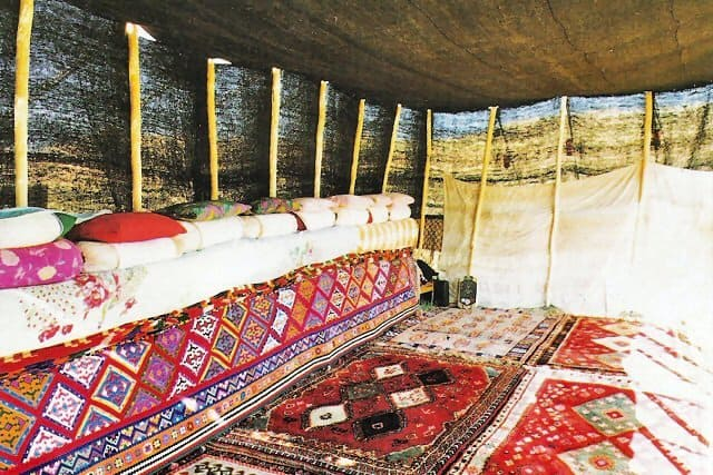 10 KIANI inside tent - Tribal bags of South Persia - synopsis of ACOR talk by Ann Nicholas and Richard Blumenthal