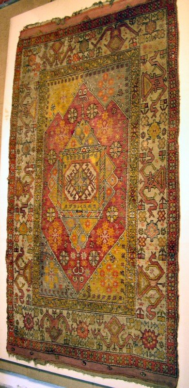 Bergama rug late 19th ct