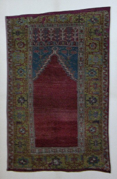 Ladik prayer rug 18th ct