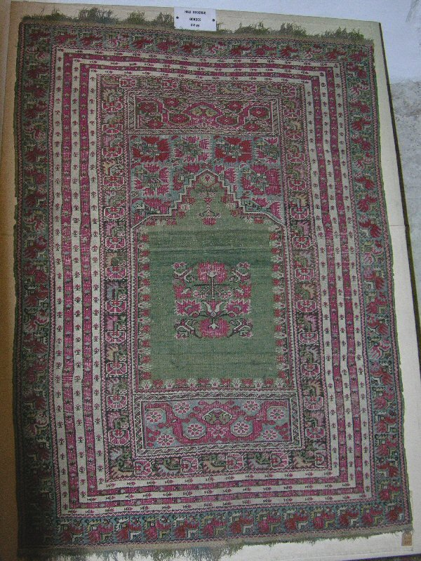 Mevlana Giordes16th - Impressions from Konya - rugs and museums