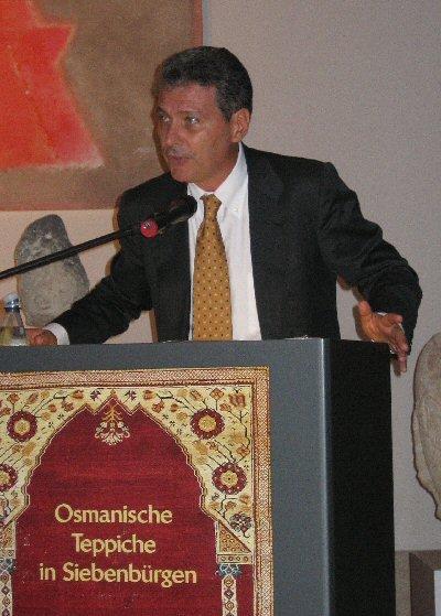 Stefano speech - Ottoman carpets - exhibition in Berlin