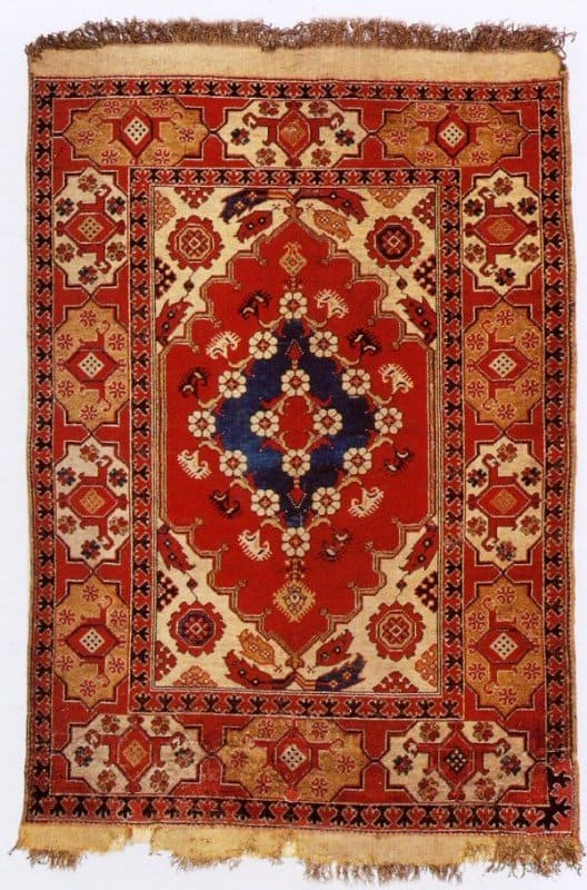 Transylvanian rug 528x800 - Ottoman carpets - exhibition in Berlin