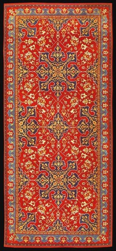 Classical Carpets Star Ushak 370x800 - Classical Anatolian carpet revival