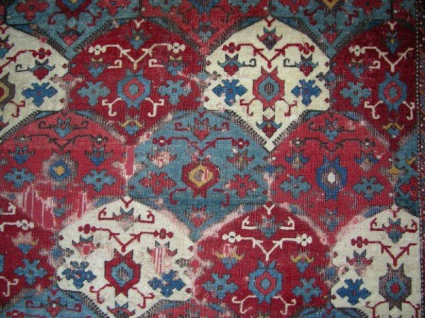 Usak carpet detail 17th century
