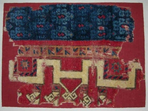Konya carpet fragment 13-14th century