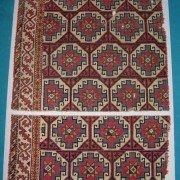 Memling rug fragment 15th century
