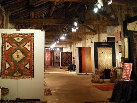 Sartirana Textile Show – First floor main gallery