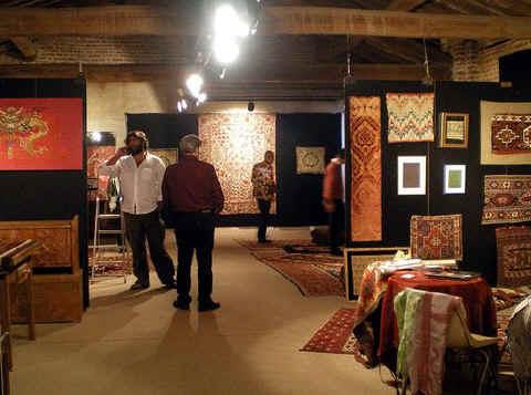 Sartirana Textile Show – First floor side gallery
