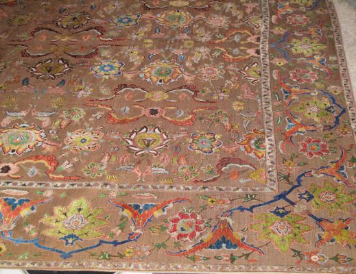 Detail of the Coronation Carpet