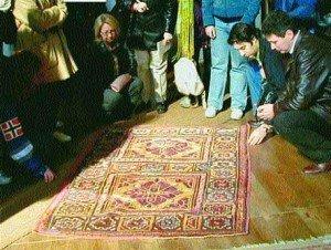 Study of a Ghirlandaio rug
