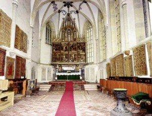St. Margaret Church in Medias