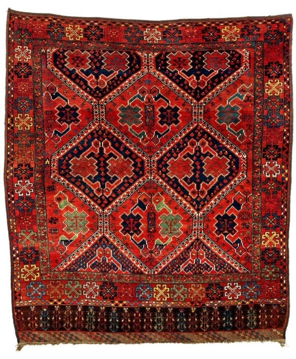 225 600x728 - More Ersari rugs V