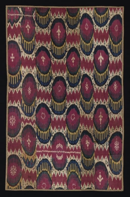 2005 526x800 - Central Asian Ikats at The Textile Museum