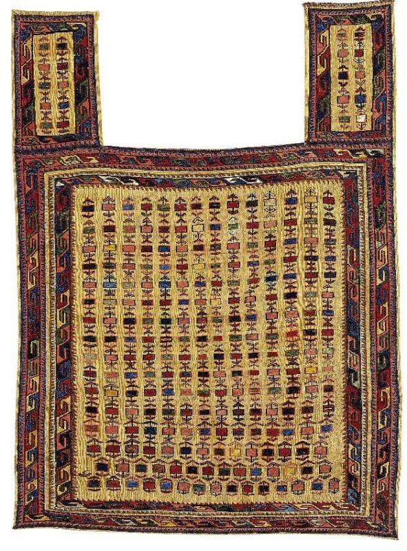 Lot 1, a Shahsavan Horse Cover North West Persia, Azerbaijan. First quarter 20th century.