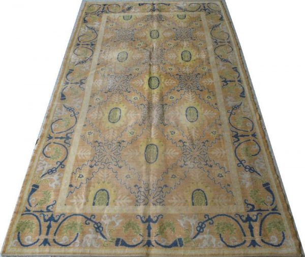 Early Spanish carpet first part of 19th century or earlier. Size 3.25m x 1.80m. Exhibitor Aaron Nejad.