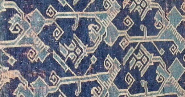 Detail Seljuk carpet fragment ca. 1400. (David Collection)