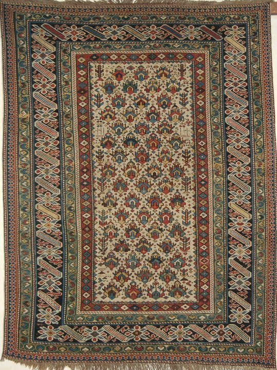 Caucasian ChiChi dated 1824. Size 166×127 cm. (Exhibitor Farmand Gallery at Dealers Fair ICOC Stockholm).